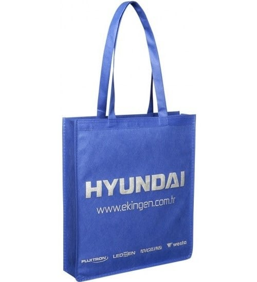 Renkli kumaş bez çanta