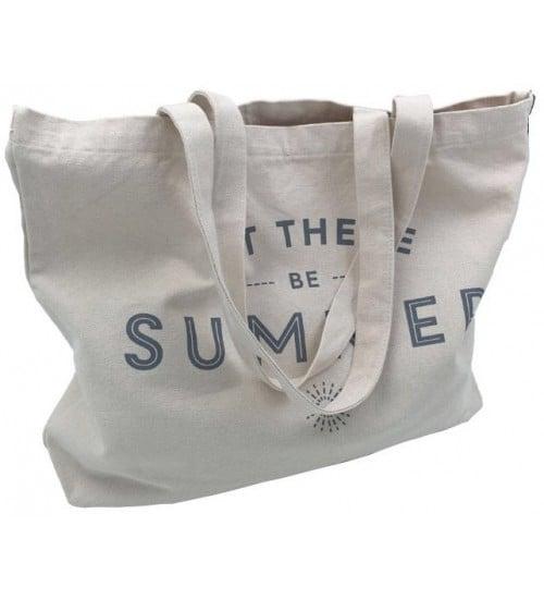 Rips kumaş plaj çantası
