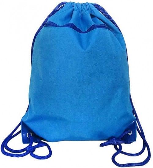 İpli Cepli Renkli Bez Çanta