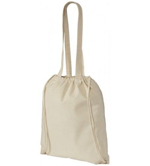 İpli Ve Saplı Bez Çanta