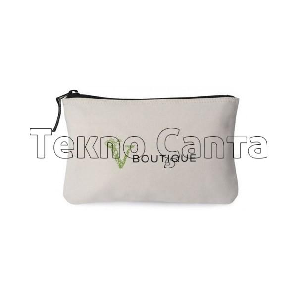 Kanvas Kozmetik Çanta